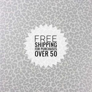 Free Shipping Over 50